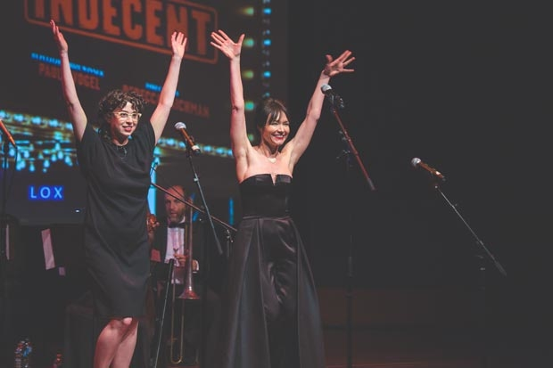 Adina Verson and Katrina Lenk performed.