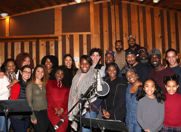 Happy recording session to the cast of Once on This Island.