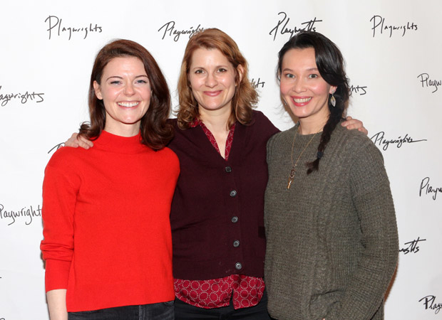 Stephanie Wright Thompson, Amy Staats, and Stacey Yen star in Miles for Mary.