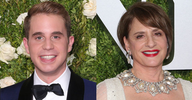 Tony Award winners Ben Platt and Patti LuPone will perform at the 60th Annual Grammy Awards as part of a tribute to composers Andrew Lloyd Webber and Leonard Bernstein.