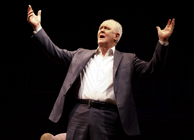 John Lithgow returns to Broadway in his new solo show Stories By Heart.