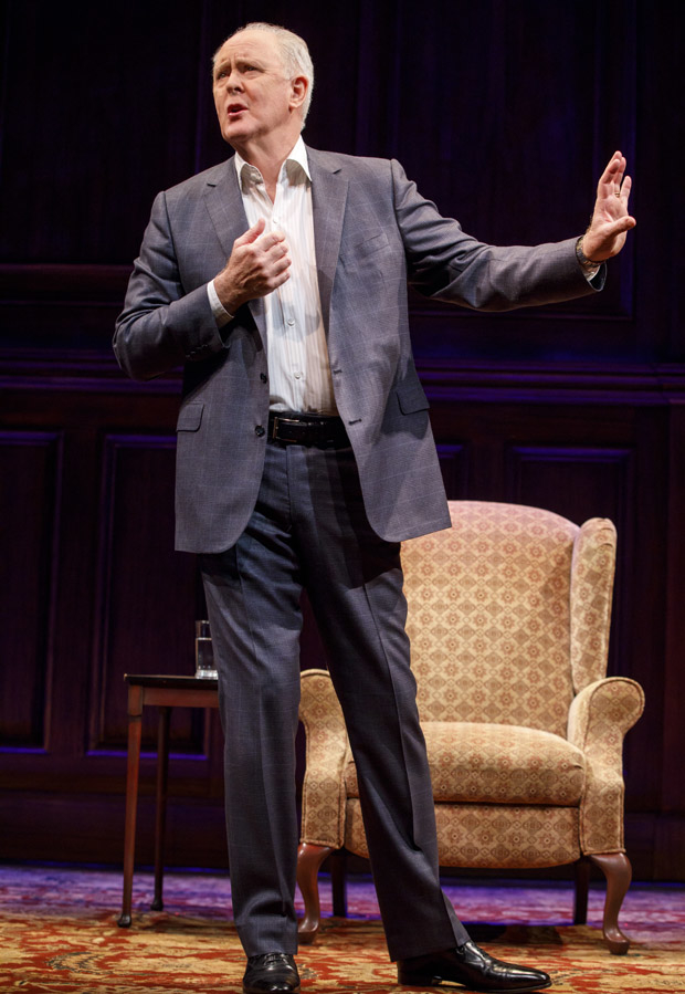 Stories By Heart, adapted and performed by John Lithgow, runs through March 4.