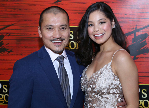 Jon Jon Briones and Eva Noblezada are the stars of Miss Saigon.