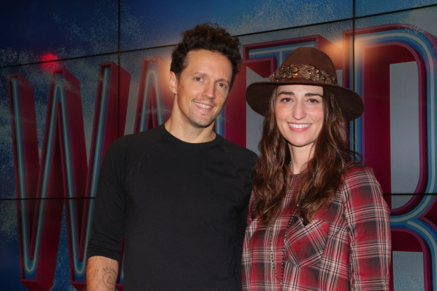 Jason Mraz and Sara Bareilles will costar on Broadway in Waitress beginning January 16.