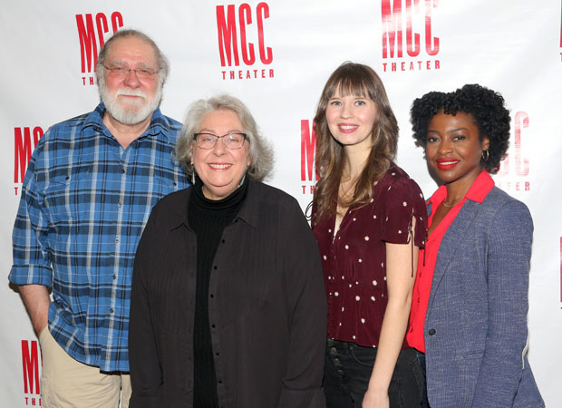 Richard Masur, Jayne Houdyshell, Molly Camp, and Pascale Armand star in Relevance.