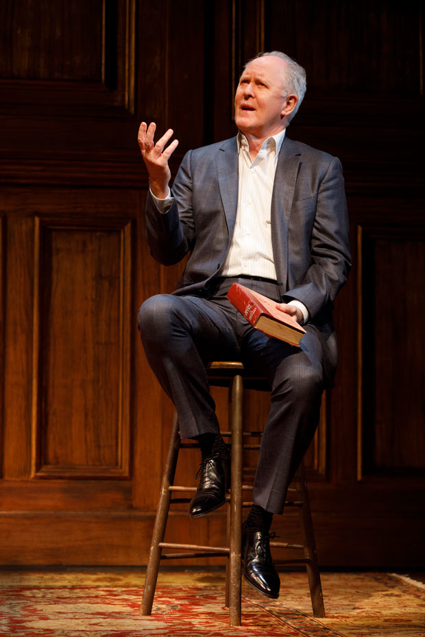 John Lithgow: Stories by Heart runs through March 4 at Roundabout's American Airline Theatre.