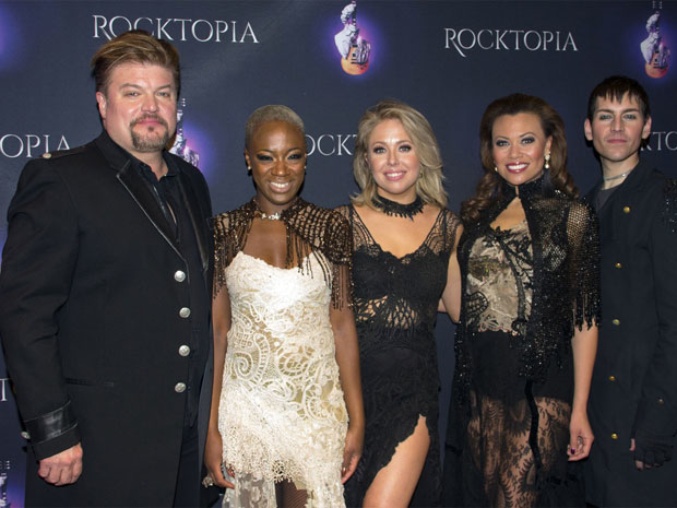 Rocktopia's Rob Evan, Kimberly Nichole, Chloe Lowery, Alyson Cambridge, and Tony Vincent preview the show for the press.