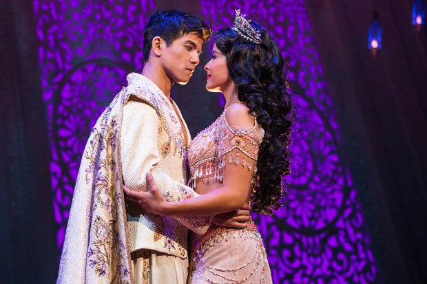 An updated version of Aladdin Jr., an adaptation of the Broadway musical for middle-school students, is available for licensing starting today.