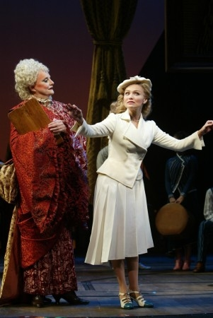 Carole Shelley and Kristin Chenoweth in ''Wicked'