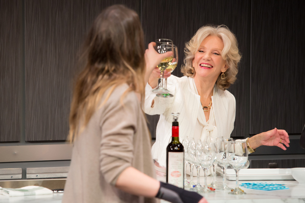 Hayley Mills stars in Isobel Mahon's Party Face off-Broadway.