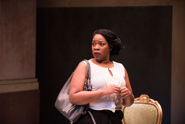 Mfoniso Udofia stars in Ngozi Anyanwu's The Homecoming Queen, directed by Awoye Timpo, at Atlantic Stage 2.