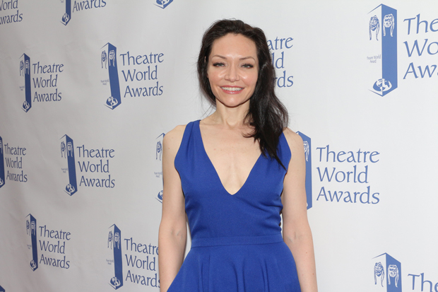Katrina Lenk was the recipient of the ninth annual Dorothy Loudon Award for Excellence in the Theater at last year's Theatre World Awards.