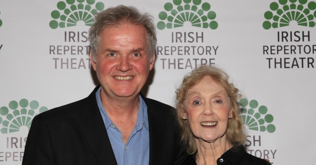 Ciarán O'Reilly and Charlotte Moore run off-Broadway's Irish Repertory Theatre.