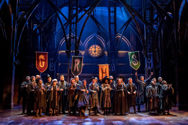A scene from the London production of Harry Potter and the Cursed Child.
