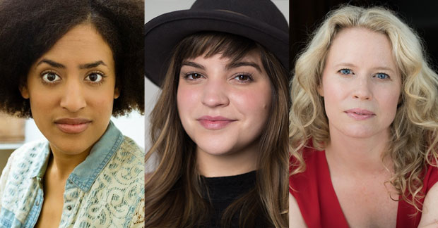 Brittany K. Allen, Paola Lázaro, and Jessica Dickey are three of the playwrights set to participate in MTC's 2018 Ted Snowdon Reading Series.