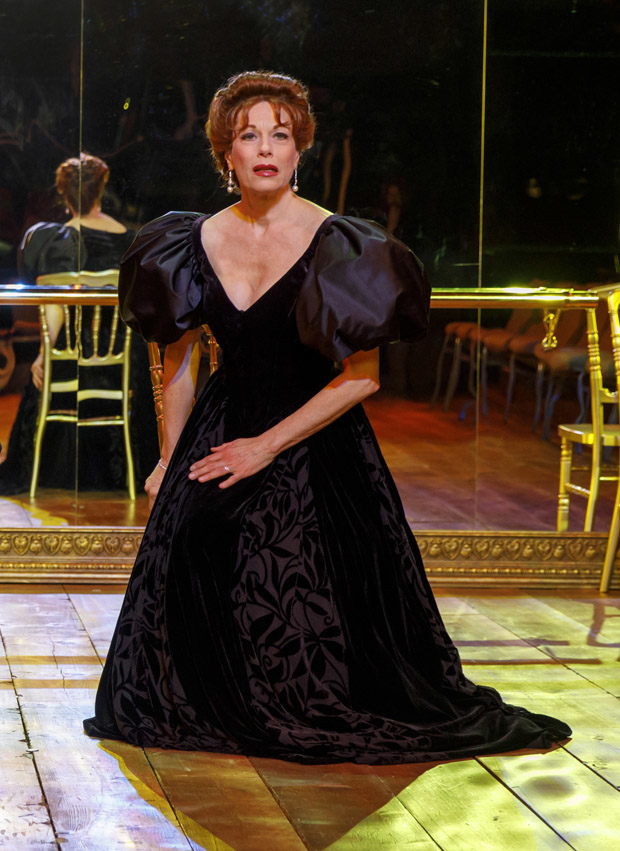 Marin Mazzie as Misia Sert in Terrence McNally's Fire and Air at Classic Stage Company.