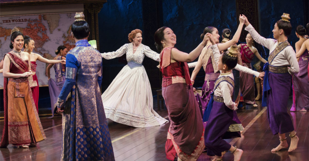 Marin Mazzie in Lincoln Center Theater's The King and I in 2016.