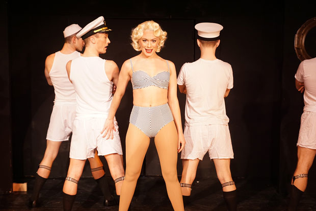 Jessica Moore and the cast of Musicals Tonight!'s Anything Goes.