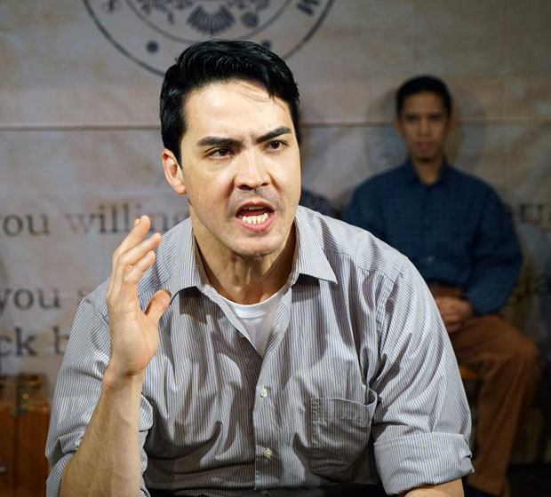 Chris Doi stars in 'No-No Boy'' at The Studio Theatre.
