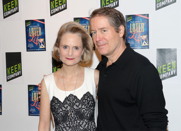Barbara Garrick and Laurence Lau star in Later Life.