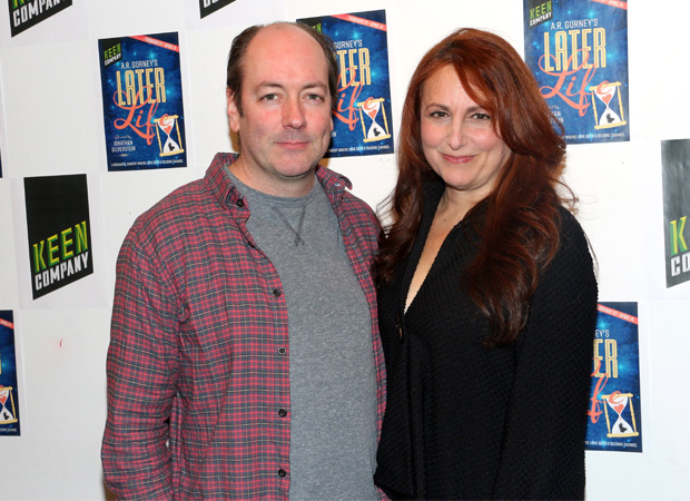 Later Life stars Liam Craig and Jodie Markell.