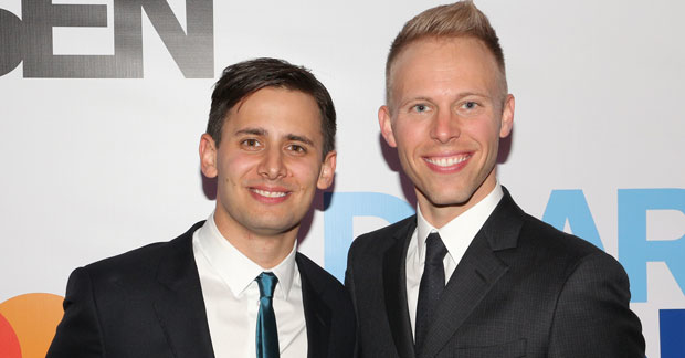 Benj Pasek and Justin Paul will write songs for the new movie Foster.