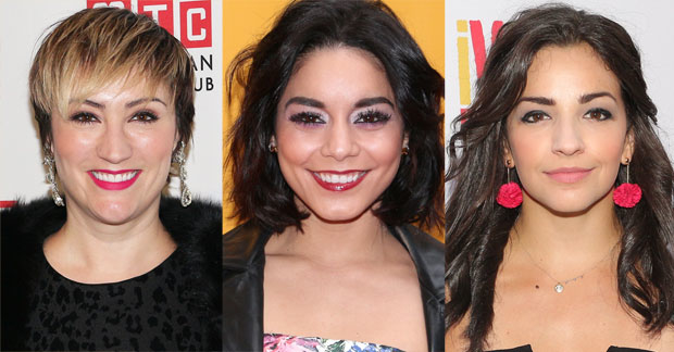 Eden Espinosa, Vanessa Hudgens, and Ana Villafañe will star in In the Heights.
