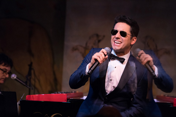 John Lloyd Young performs Heart to Heart, music-directed by Tommy Faragher, at the Café Carlyle.