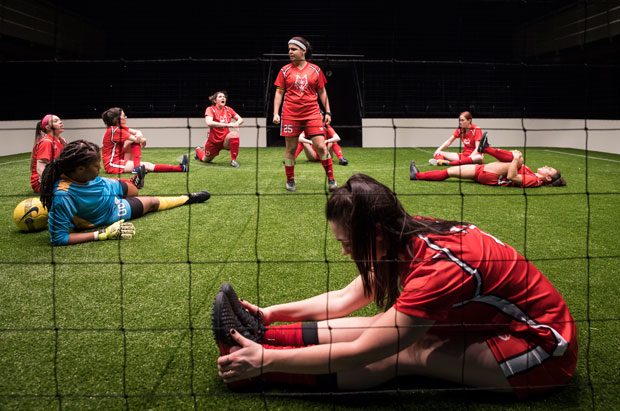 The Wolves, directed by Vanessa Stalling, makes its Chicago premiere at Vanessa Stalling.