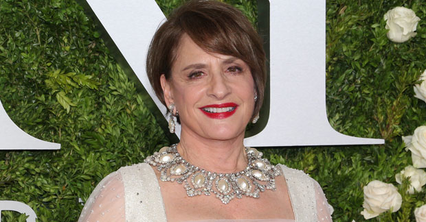 Patti LuPone participated as part of the panel seleting this year's Jonathan Larson Grants.