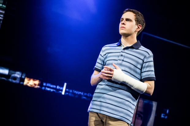 Taylor Trensch now stars in the title role of Broadway's Dear Evan Hansen, playing a the Music Box Theatre.