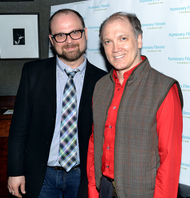 Charles Busch (right) will return to Theater for the New City with The Confession of Lily Dare, directed by frequent collaborator Carl Andress (left).