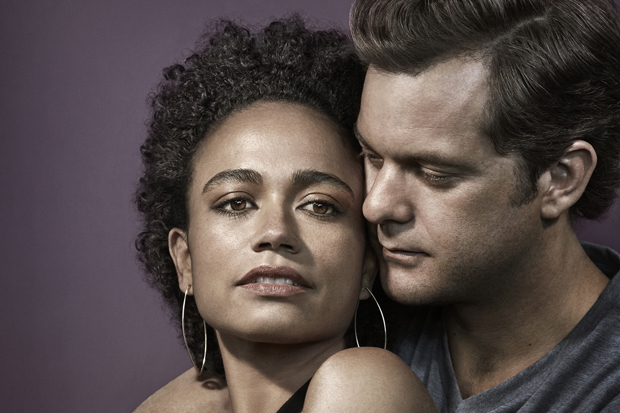 Lauren Ridloff and Joshua Jackson star in the Broadway revival of Children of a Lesser God.