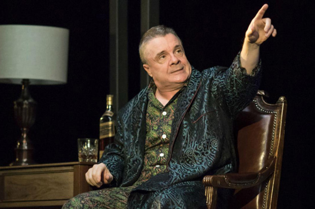 Nathan Lane played Roy Cohn in the London revival of Angels in America. He reprises his role on Broadway.