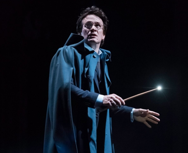 Jamie Parker as Harry in Harry Potter and the Cursed Child, beginning Broadway performances on March 16.