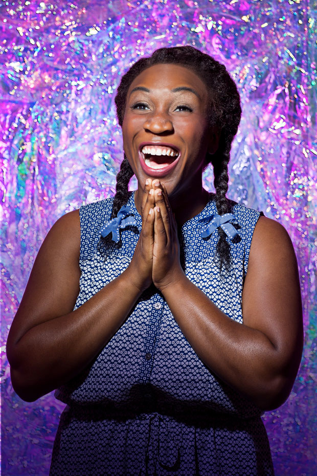 Ines Nassara stars as Dorothy in The Wiz, directed by Kent Gash and choreographed by Dell Howlett, at Ford's Theatre.