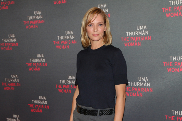 Uma Thurman is currently making her Broadway debut in The Parisian Woman.