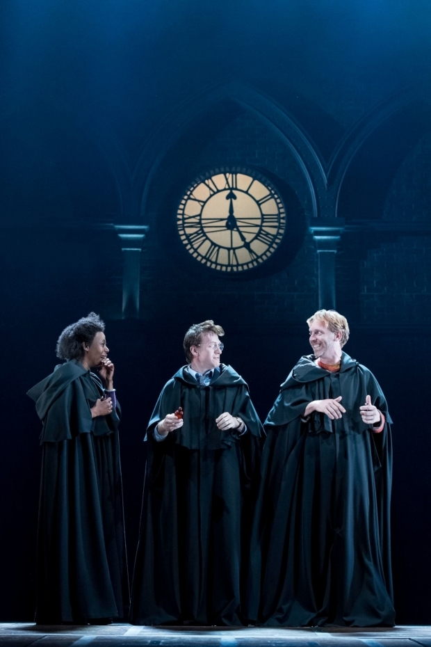 A scene from Harry Potter and the Cursed Child in London.