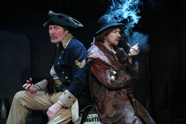 """Colin Lane and Adam Petherbridge appear in """"The Rising of the Moon"""", part of Three Small Irish Masterpieces."""