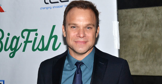 Norbert Leo Butz plays Alfred P. Doolittle in My Fair Lady on Broadway.