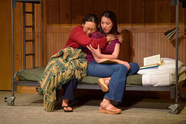 Cindy Im and Jenelle Chu in Vietgone, directed by Jaime Castañeda, at American Conservatory Theater.