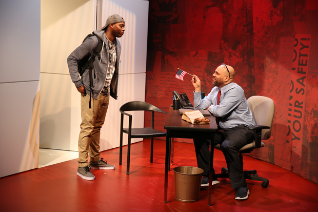 Wesley T. Jones and Bruce Faulk star in Brian Dykstra's Education, directed by Margaret Perry, at 59E59 Theaters.