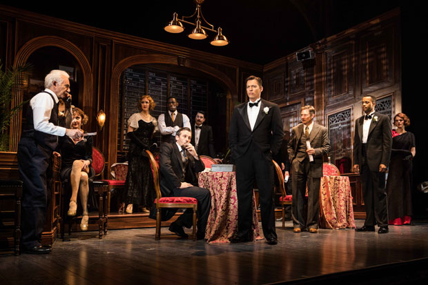 Harry Connick, Jr. stars in Paper Mill Playhouse's world premiere production The Sting directed by John Rando.