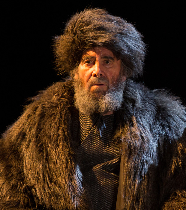 Antony Sher as Lear in Gregory Doran's Royal Shakespeare Company production of King Lear in 2016.