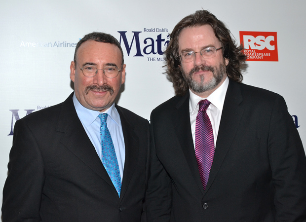 Antony Sher with his partner, Royal Shakespeare Company Artistic Director Gregory Doran, in 2013.