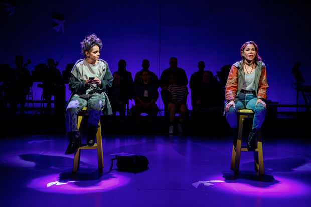 Gizel Jiménez and Daphne Rubin-Vega star in the new musical Miss You Like Hell.