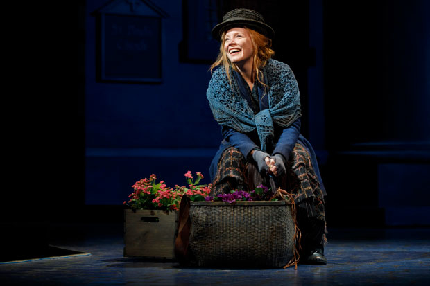 Lauren Ambrose stars as Eliza Doolittle in Bartlett Sher's My Fair Lady at Lincoln Center's Vivian Beaumont Theater.