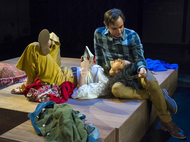 Sepideh Moafi and Ben Steinfeld costar in One Thousand Nights and One Day, directed by Erin Ortman, at A.R.T./New York Theatres.
