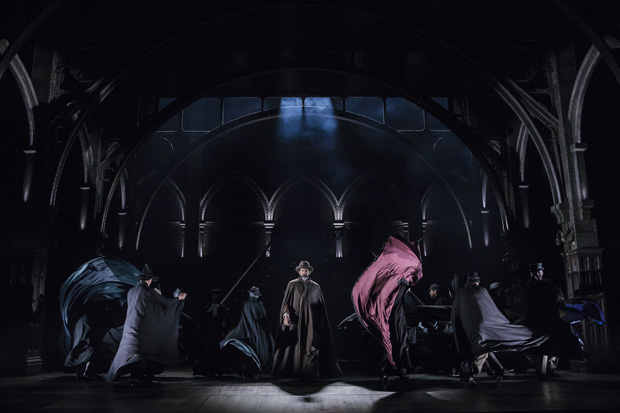 The cast of Harry Potter and the Cursed Child performs Steven Hoggett's choreography.