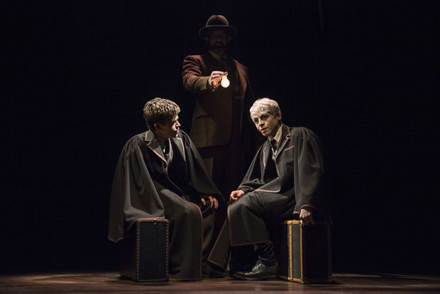 Sam Clemmett plays Albus, and Anthony Boyle plays Scorpius in Harry Potter and the Cursed Child.